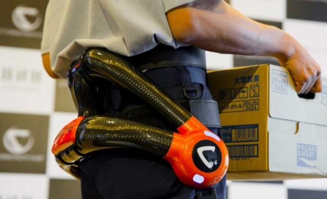 Cyberdyne разрабатывает роботизированный экзоскелет