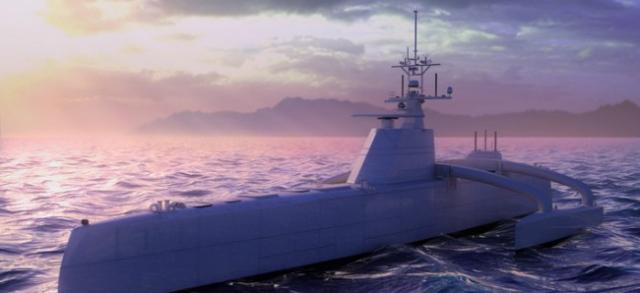 DARPA представит субмарину