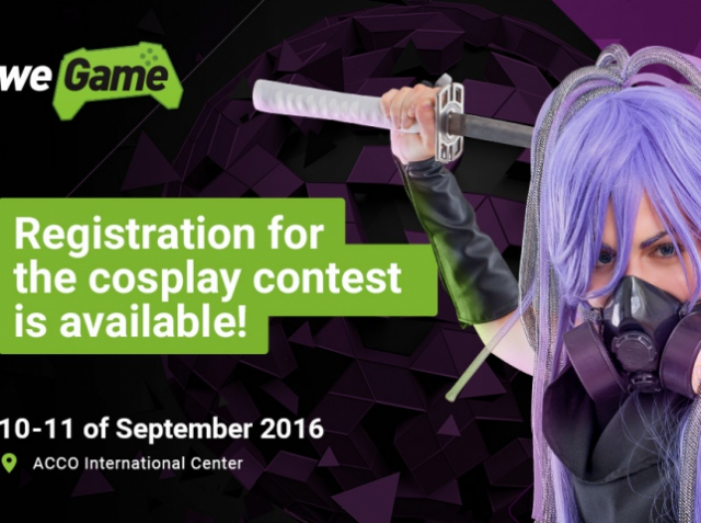Dear friends! Cosplay contest at WEGAME festival!