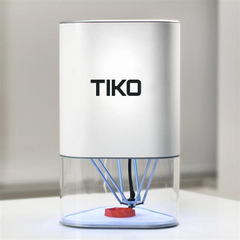 The Oddball Tiko 3D Printer Unveiled for $179 at SXSW