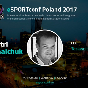 Dimitri Mikhalchuk, CEO at Teslasuit Ltd, will speak at eSPORTconf Poland