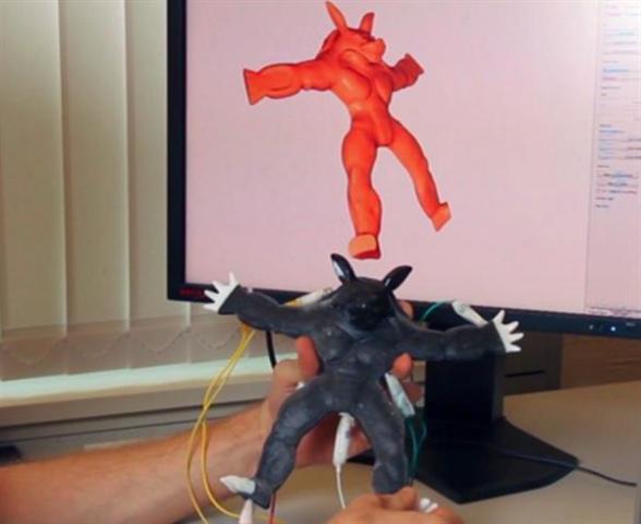 Disney создает чувствительные игрушки с применением 3D-печати