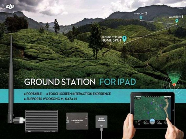 DJI предлагает новый вид управления – с помощью системы Ground Station