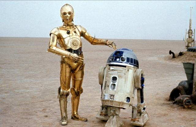 Для производства роботов из «Звёздных войн» не хватает только мозгов