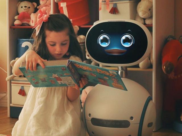 Домашний робот спасет в опасной ситуации