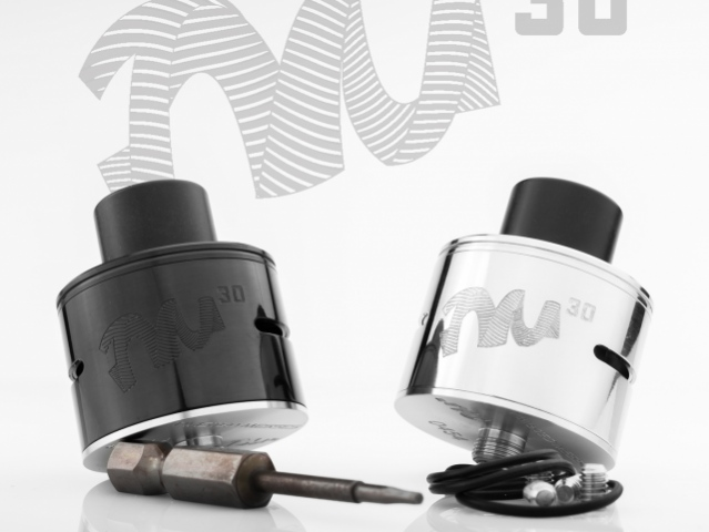 TM30 RDA: cool diameter for cool coils