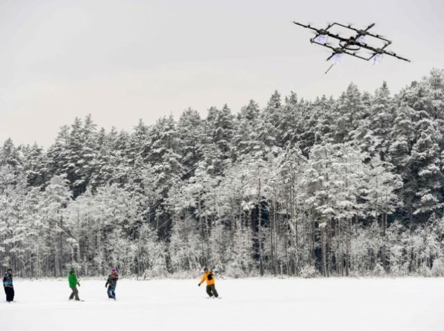 Дронбординг покоряет Латвию