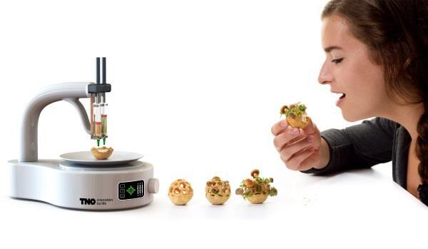 Edible Growth: новая концепция 3D-печати пищи
