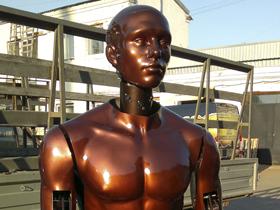 Exclusive Mannequin Robots at Robotics Expo 2014