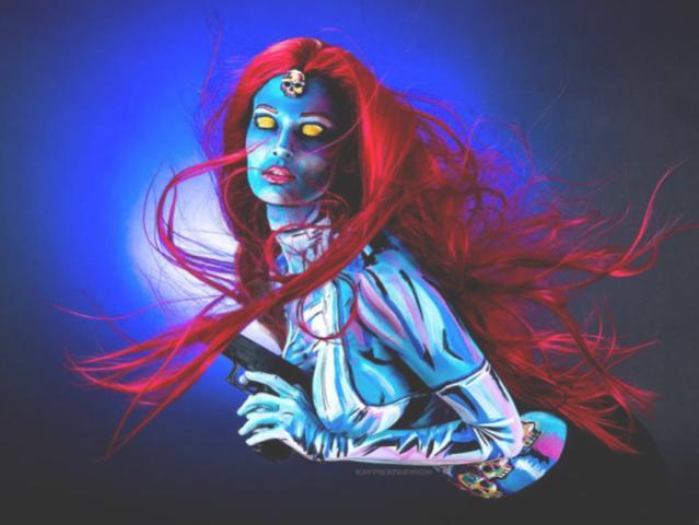 Экстравагантный косплей: супергеройский боди-арт от канадской художницы