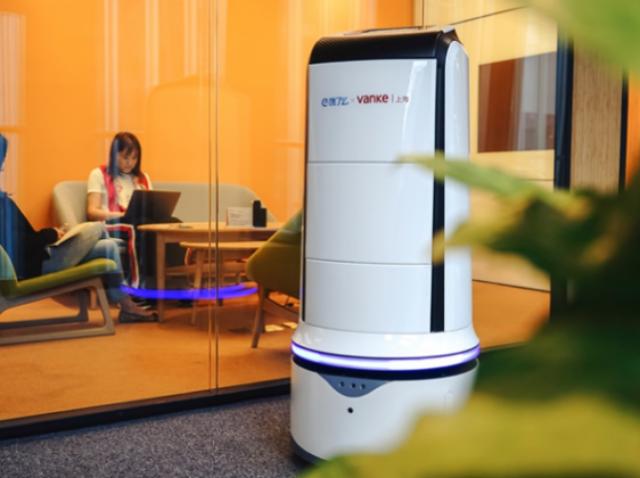 Ele.me разработала робота-курьера для доставки обедов