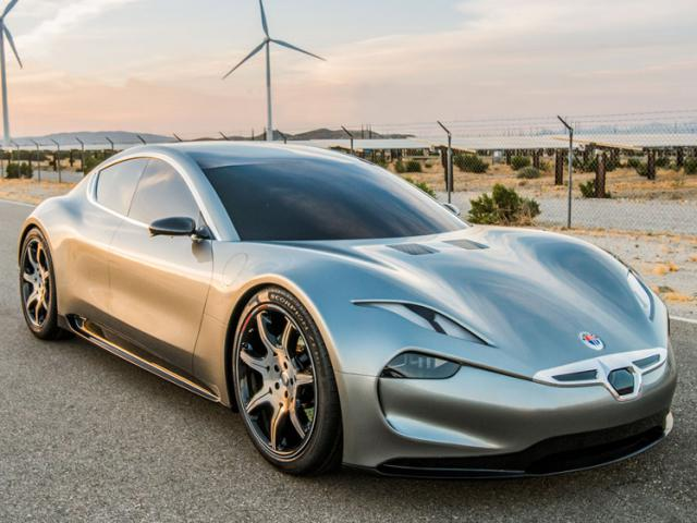 Fisker electric cars will need 1 minute to charge