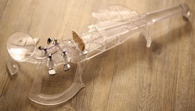 Электроскрипка на 3D-принтере