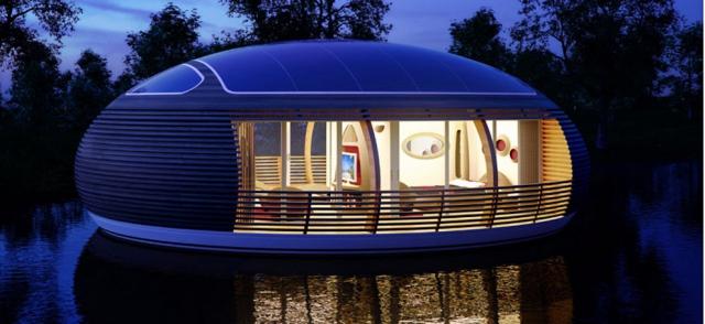 Энергоэффективный дом Waternest 100
