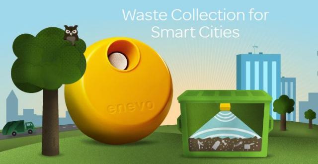 Enevo One – умный мусорный контейнер