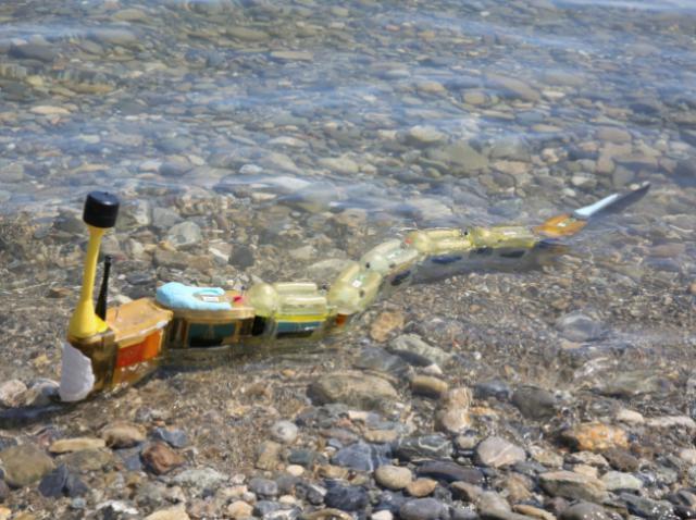 Envirobot – 3D-печатный робот с функцией эколога