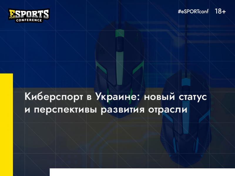 Esports в Украине: какие возможности открывает новый статус киберспорта и что ждет индустрию в будущем?
