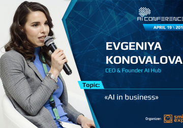 Evgeniya Konovalova, AI Conference speaker: what AI product is the most profitable to develop?