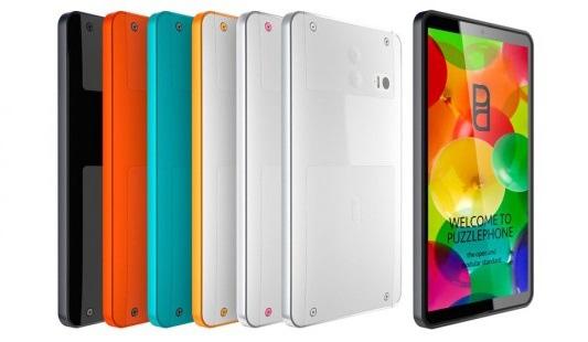 Финский модульный смартфон под названием Puzzlephone, изготовленный с помощью 3D печати