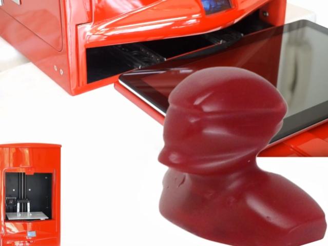 Forge 1 – принтер для трехмерной печати на основе планшета