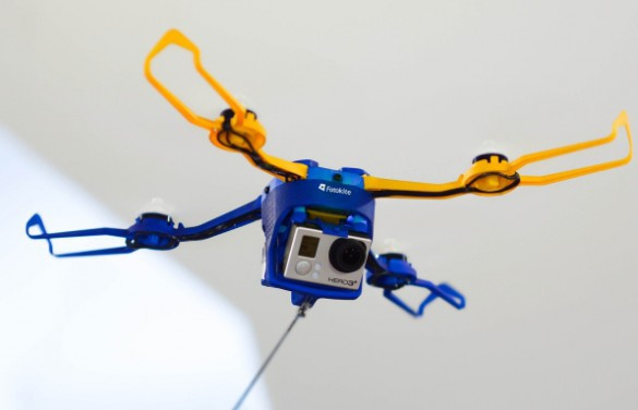 Fotokite Phi – летающая камера на поводке