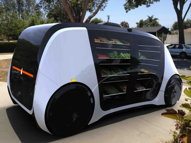Food mobile Robomart: no need to go to the grocery anymore