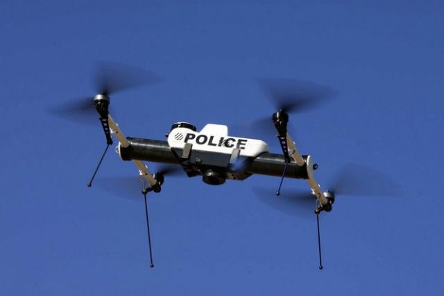 ГАИ Днепропетровска начала следить за движением с помощью летательных дронов