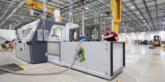 General Electric планирует распечатывать крупногабаритные индустриальные объекты на 3D-принтере