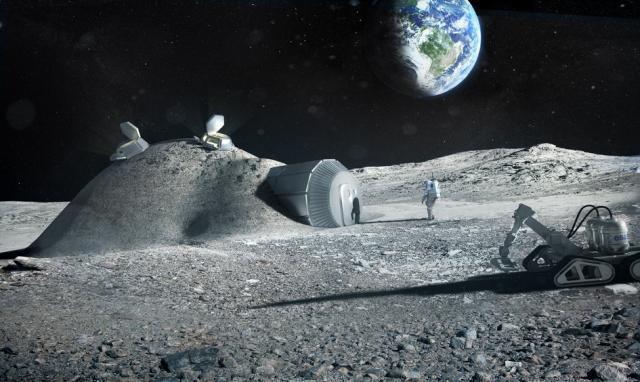 Жилища на Марсе изготовят изо льда, используя 3D-печать