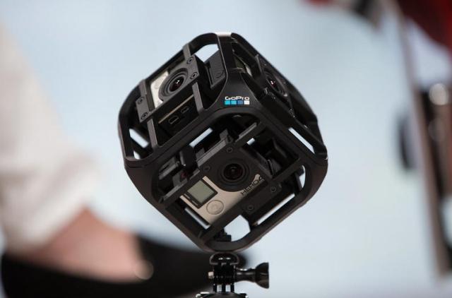 GoPro займётся дронами и системами виртуальной реальности