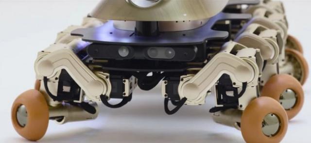Halluc IIx: ученые создали робота по образу доисторического существа