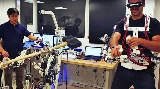 HERMES – робот, управляемый рефлексами
