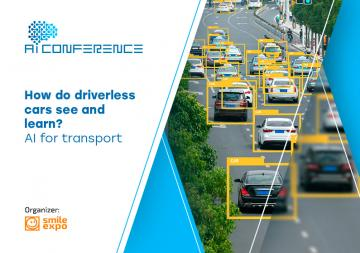 How do driverless cars see and learn? AI for transport