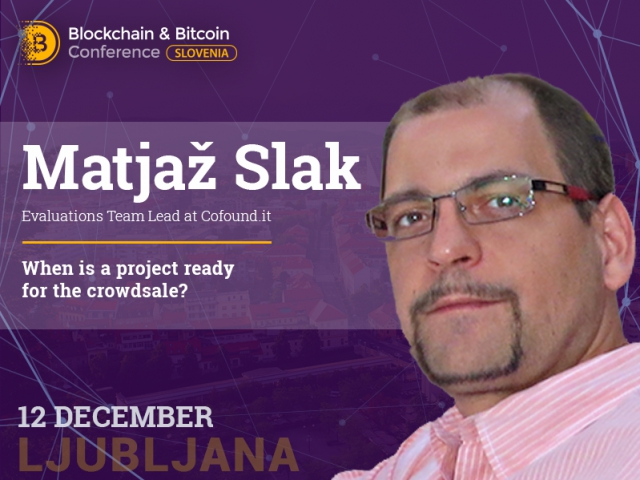 How to get ready for crowdsale properly: tips from Matjaž Slak, Evaluations Team Lead at Cofound.it