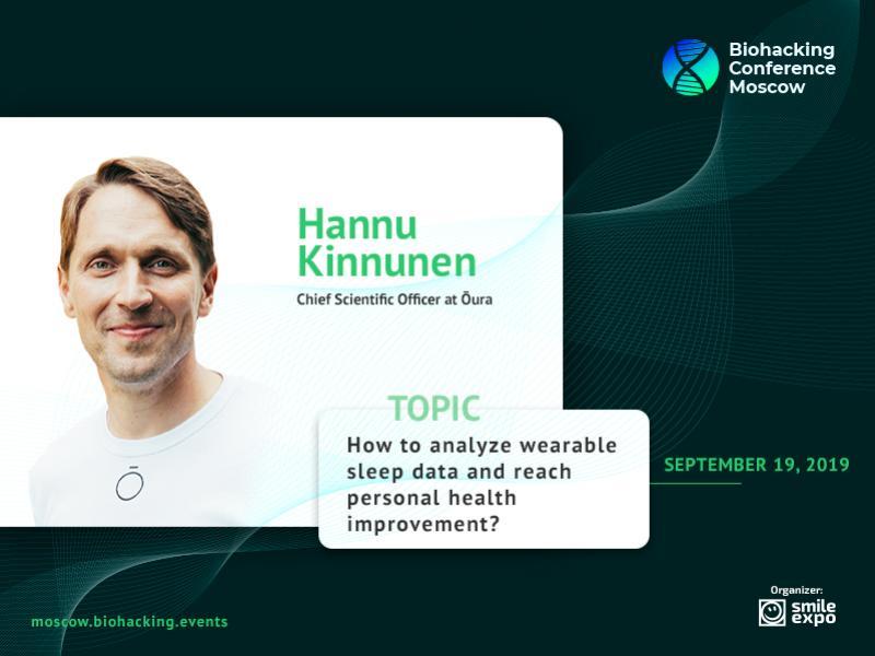How to Improve Health Using Sleep Monitoring Gadgets: Hannu Kinnunen, Representative of Ōura
