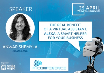 How to use smart assistant for business development? Tips from Amazon expert at AI Conference