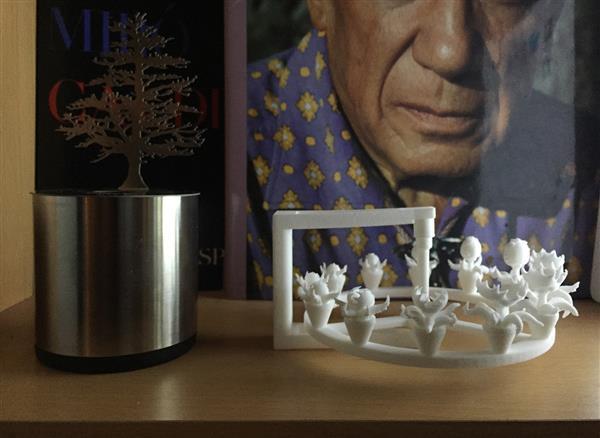 Художник по визуальным эффектам использует Luxology MODO и Form 1 для создания потрясающих 3D-печатных зоотропов