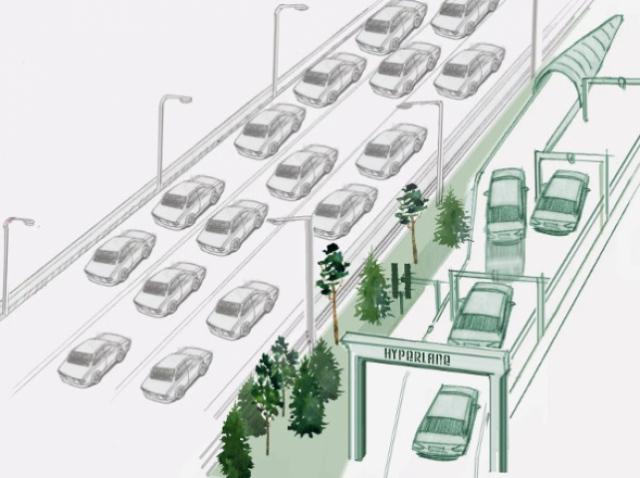 Hyperlane – a separate lane for driverless cars