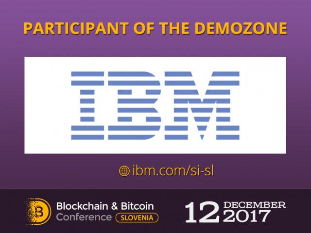 IBM will present a project Composer at Blockchain & Bitcoin Conference Slovenia 2017