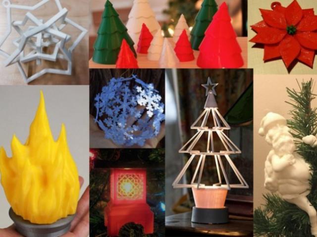 Идеи для новогоднего декора: 10 украшений, которые можно напечатать на 3D-принтере
