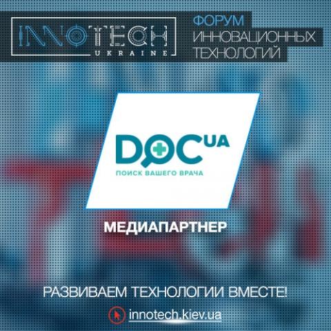 InnoTech Ukraine media partner: Doc.ua
