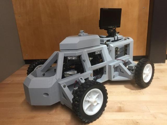Инженеры из Дьюка представили 3D-печатного робота для защиты дорожных полицейских