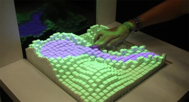 Интерфейс Materiable меняет форму в зависимости от прикосновений