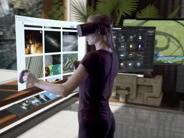 Интерфейс Oculus Home из библиотеки контента превратился в личную VR-комнату