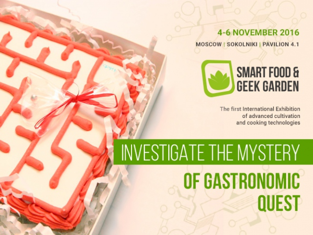 Investigate the mystery of gastronomic quest at Smart Food & Geek Garden