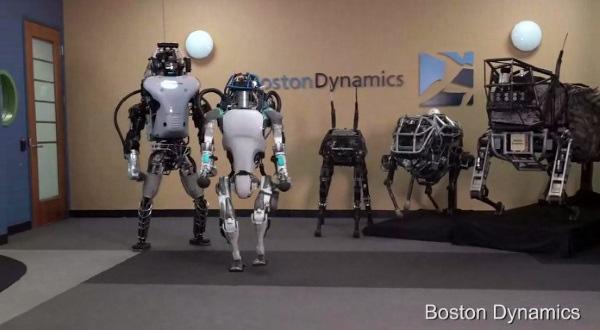Испытание в экстремальных условиях улучшенного 3D-печатного робота-гуманоида Atlas