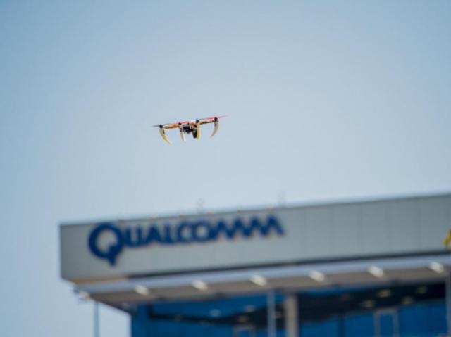 Исследование Qualcomm: дронами можно успешно управлять через LTE