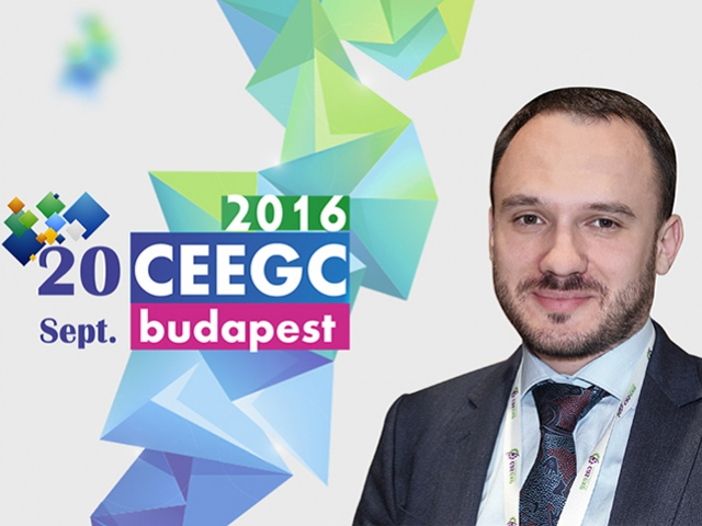 Ivan Kondilenko to report at CEEGC 2016 Conference