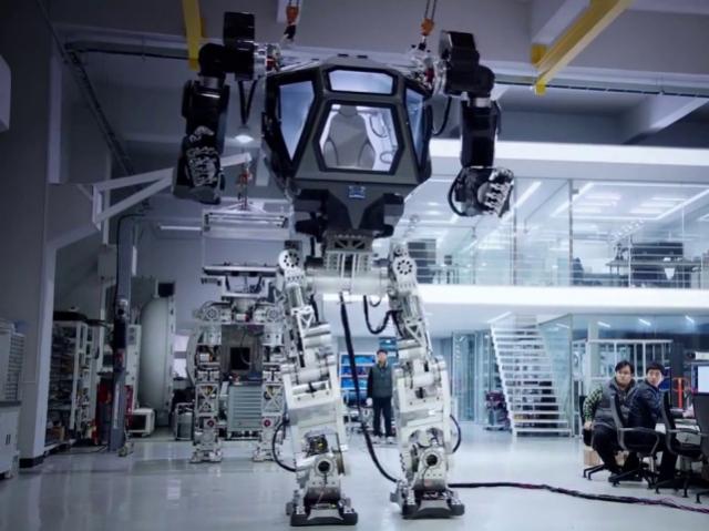 Из фильма в реальность: в Корее показали робота, похожего на машины из х/ф «Аватар»