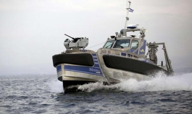 Израильская компания выпустила военный корабль-робот